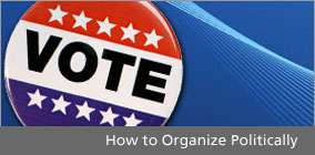 Organize Politically